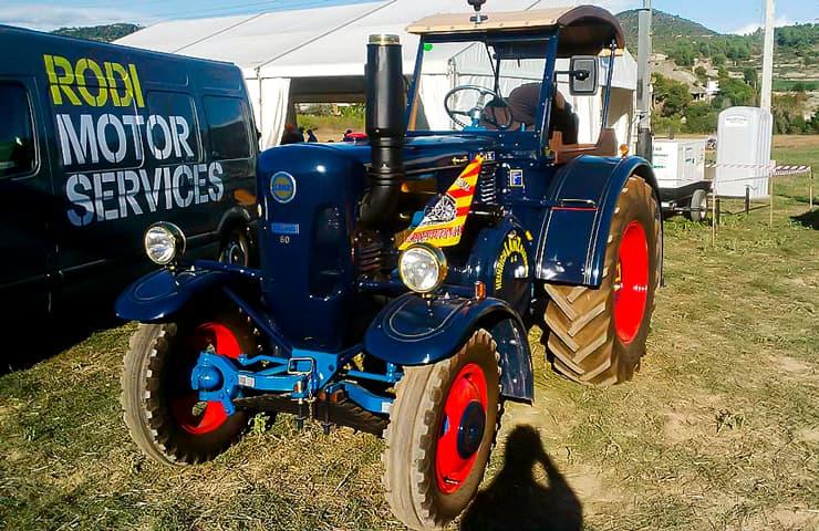 feria agricultura campeonato arado tractor