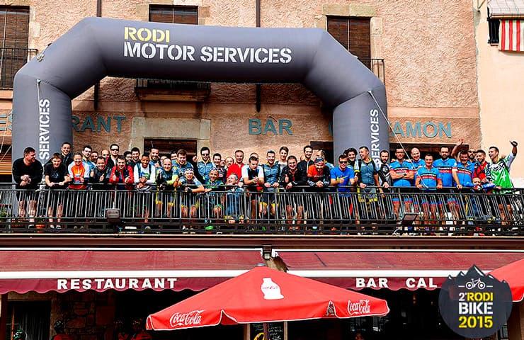 participantes rodibike 2015 bicicletas