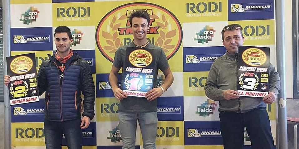 Ganadores categoría Open Copa Rodi Dirt Track 2015