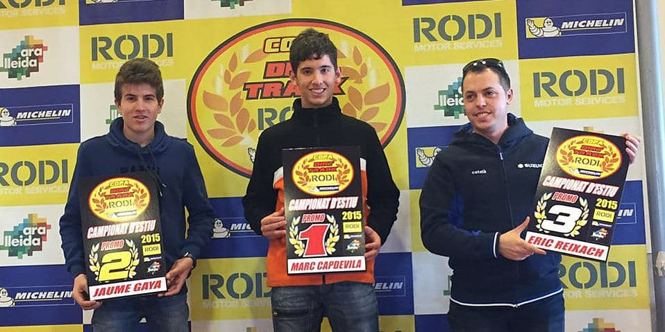 Ganadores categoría Promo Copa Rodi Dirt Track 2015