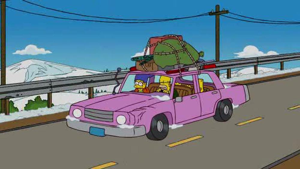 Coche de los Simpson