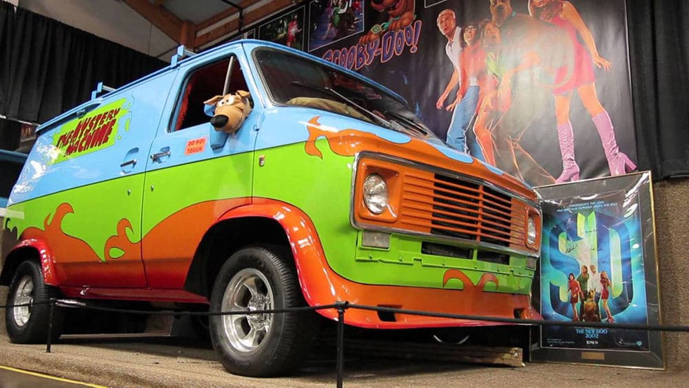 Coche Mystery Machine Scooby-Doo