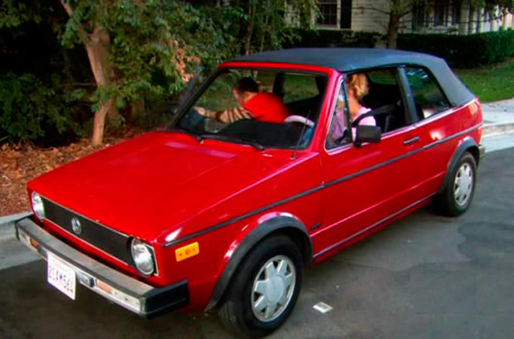 Coche The Bing Bang Theory, Volkswagen Golf Cabriolet