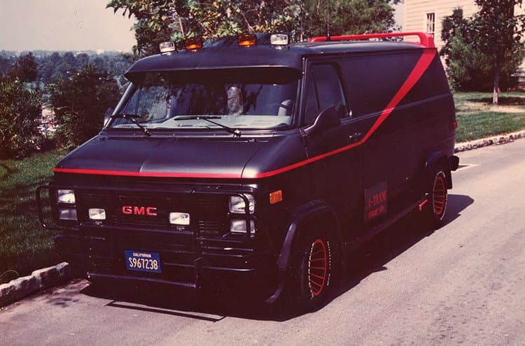 Fugoneta Equipo A, GMC Vandura 1983