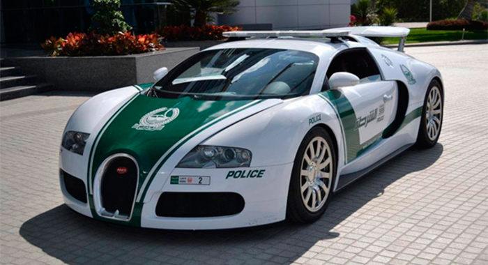 Coche policia Bugatti Veyron
