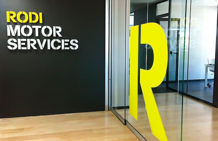 entrada puerta oficina empresa rodi motor services