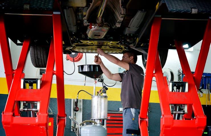 cambio aceite motor coche