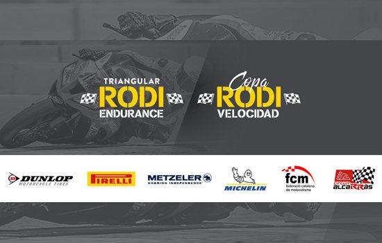 Logo campeonatos de motociclismo Rodi