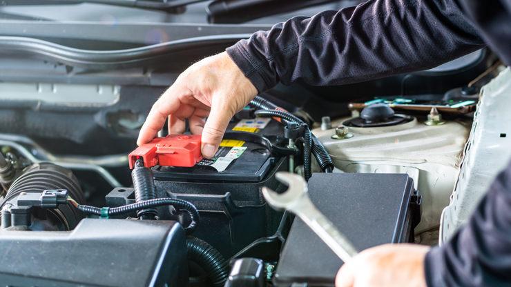 bateria coche conexion