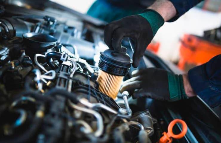cambio filtro aceite coche