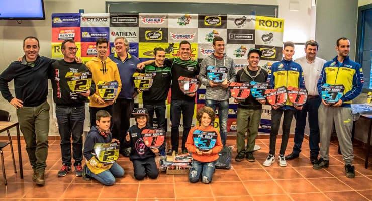 Recogida de Premios de la Copa Rodi de Dirt Track 2018