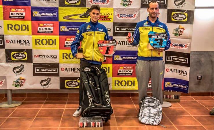 Ganadores categoría Funrace Copa Rodi Dirt Track 2018