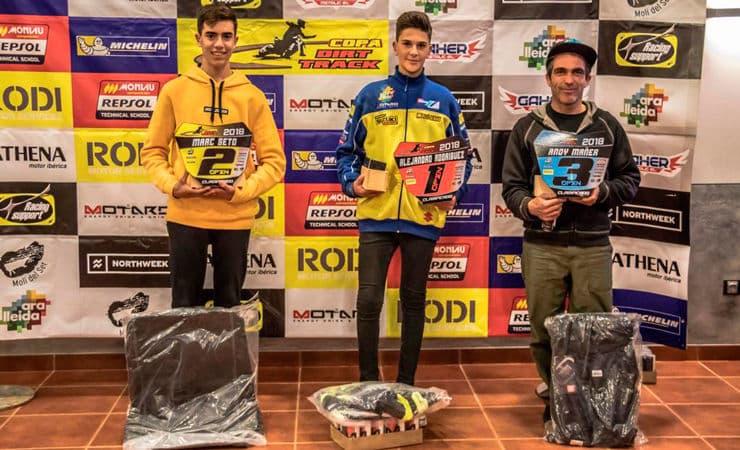 Ganadores categoría Open Copa Rodi Dirt Track 2018