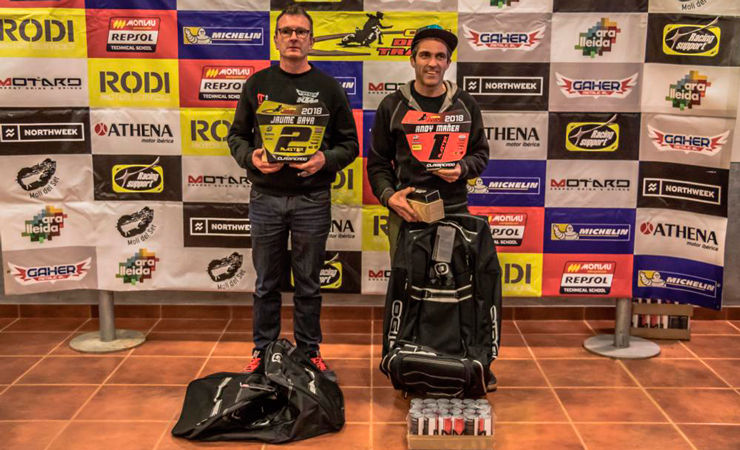 Ganadores categoría Masters Copa Rodi Dirt Track 2018