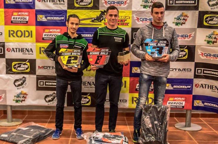 Ganadores categoría Élite Copa Rodi Dirt Track 2018