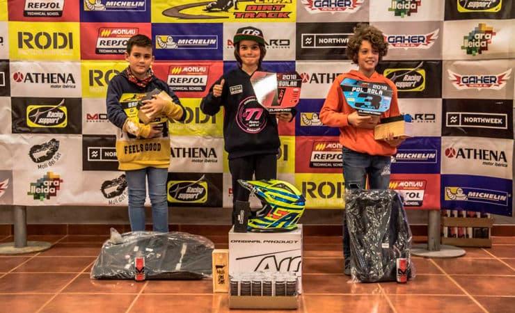 Ganadores categoría Alevines Copa Rodi Dirt Track 2018