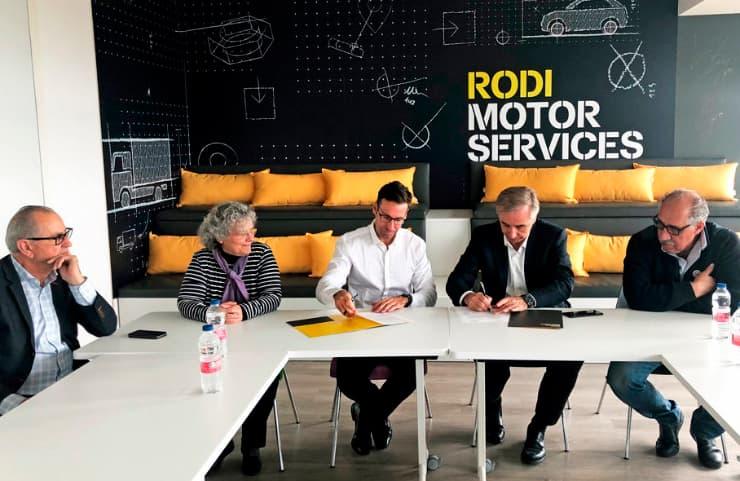 firma colaboracion rodi autoesculas fac