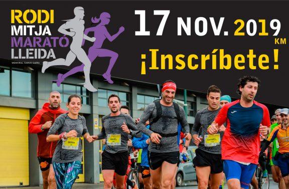 Inscríbete a la Rodi Mitja Marató Lleida
