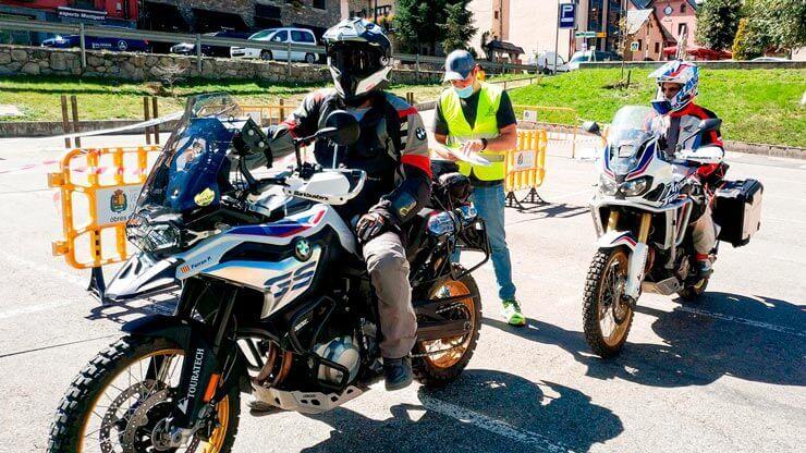 participantes ruta off road verificación