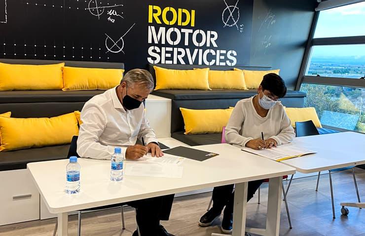 Firma renovación patrocinio Balafia Lleida
