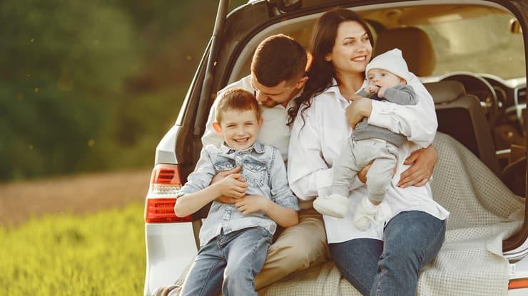 dia de las familias seguridad coche