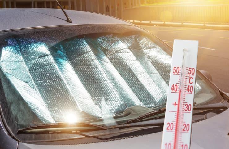cotxe para-sol sol parabrisa